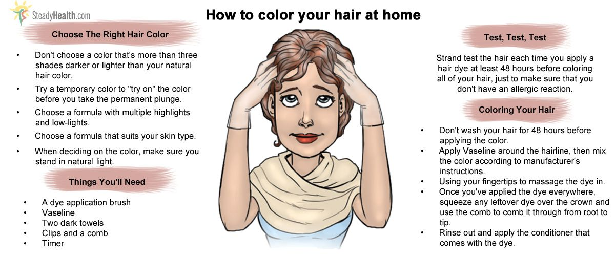 How To Color Your Hair At Home Pinterest Naturally Beautiful
