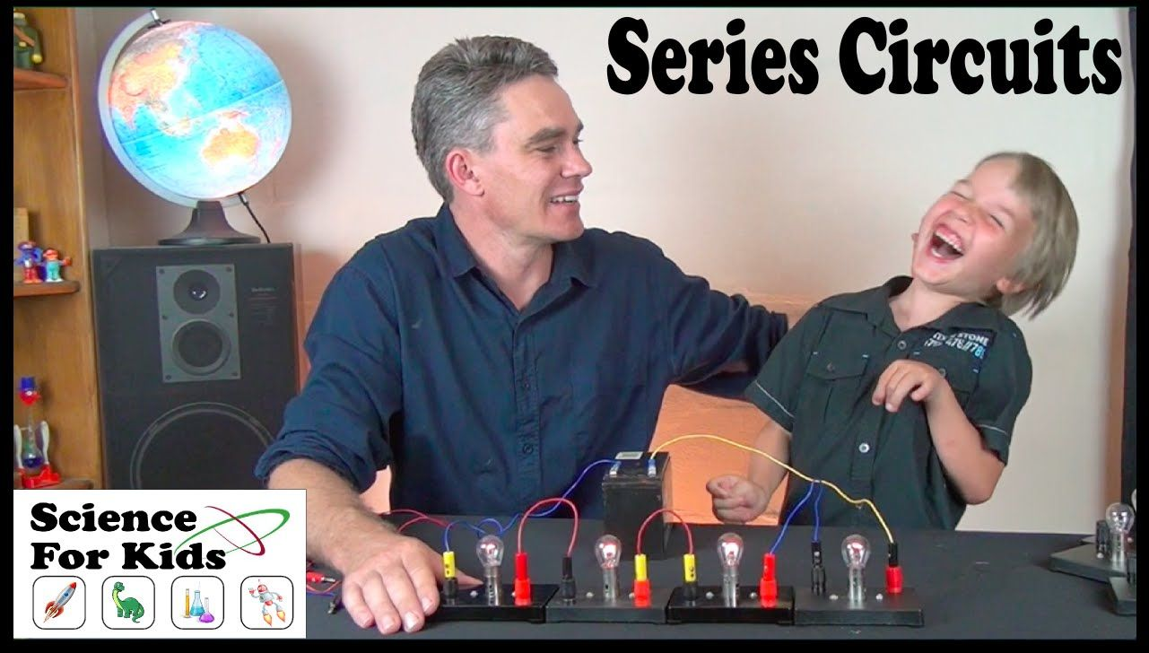 What Are Series Circuits Electricity Science For Kids Physical Simple Electrical Circuit Investigating With Lightglobes Jacob And Sam Set Up A Using