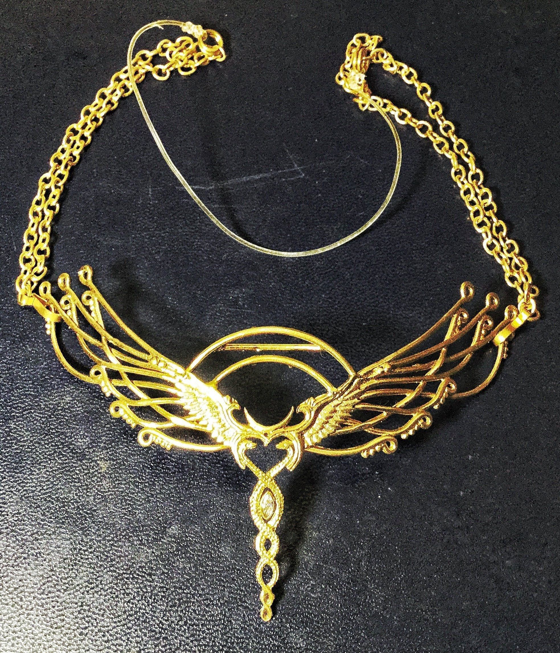 Caduceus Tiara - Brass ~ Unicorn Horn INCLUDED!!