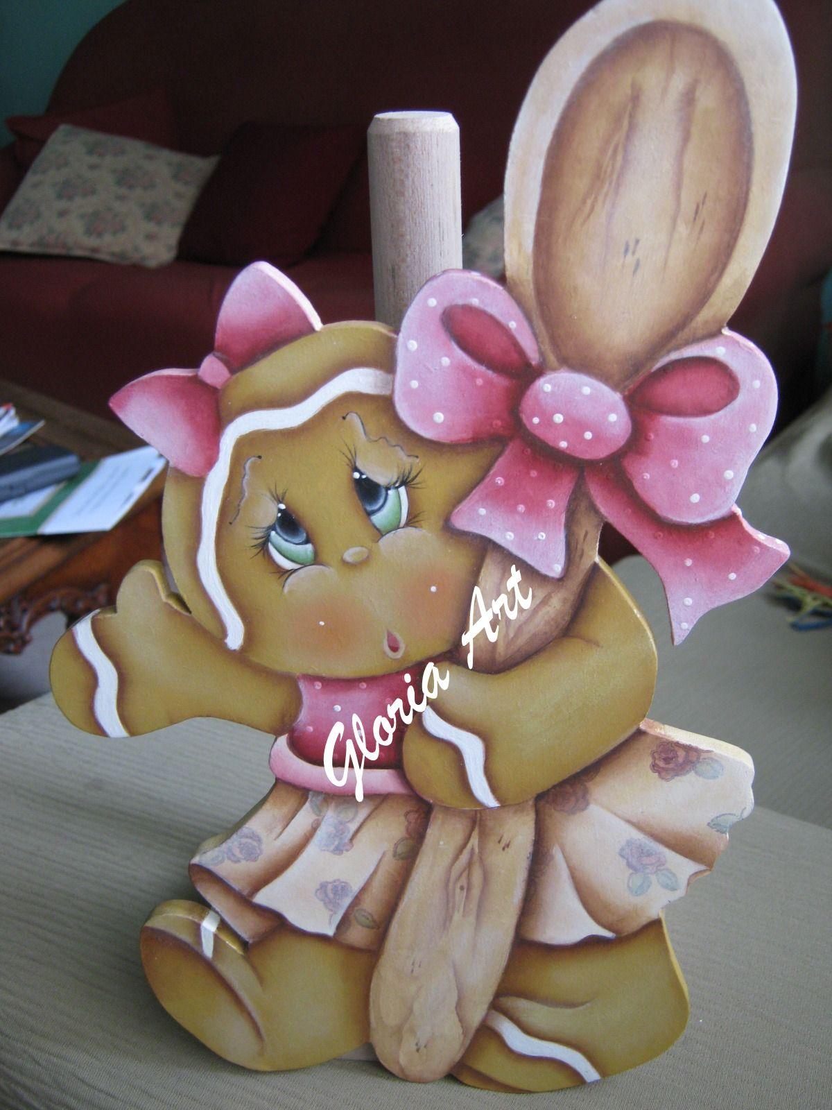 Porta-rolo Ginger Projeto Senhoras da Arte