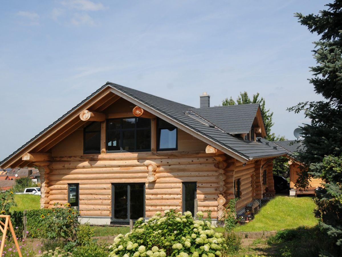 Hausansicht White Lilly Lake Haus Blockhaus Hauser Rustikale Kamine