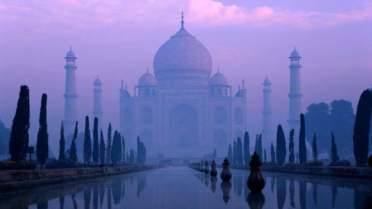 صور من الهند India سياحة 7 Taj Mahal India Taj Mahal City Sketch