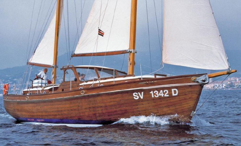 1959 Alden Ketch rigged Motor Sailer Sail Boat For Sale