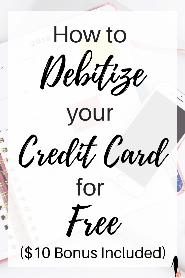 Debitizing Our Credit Card