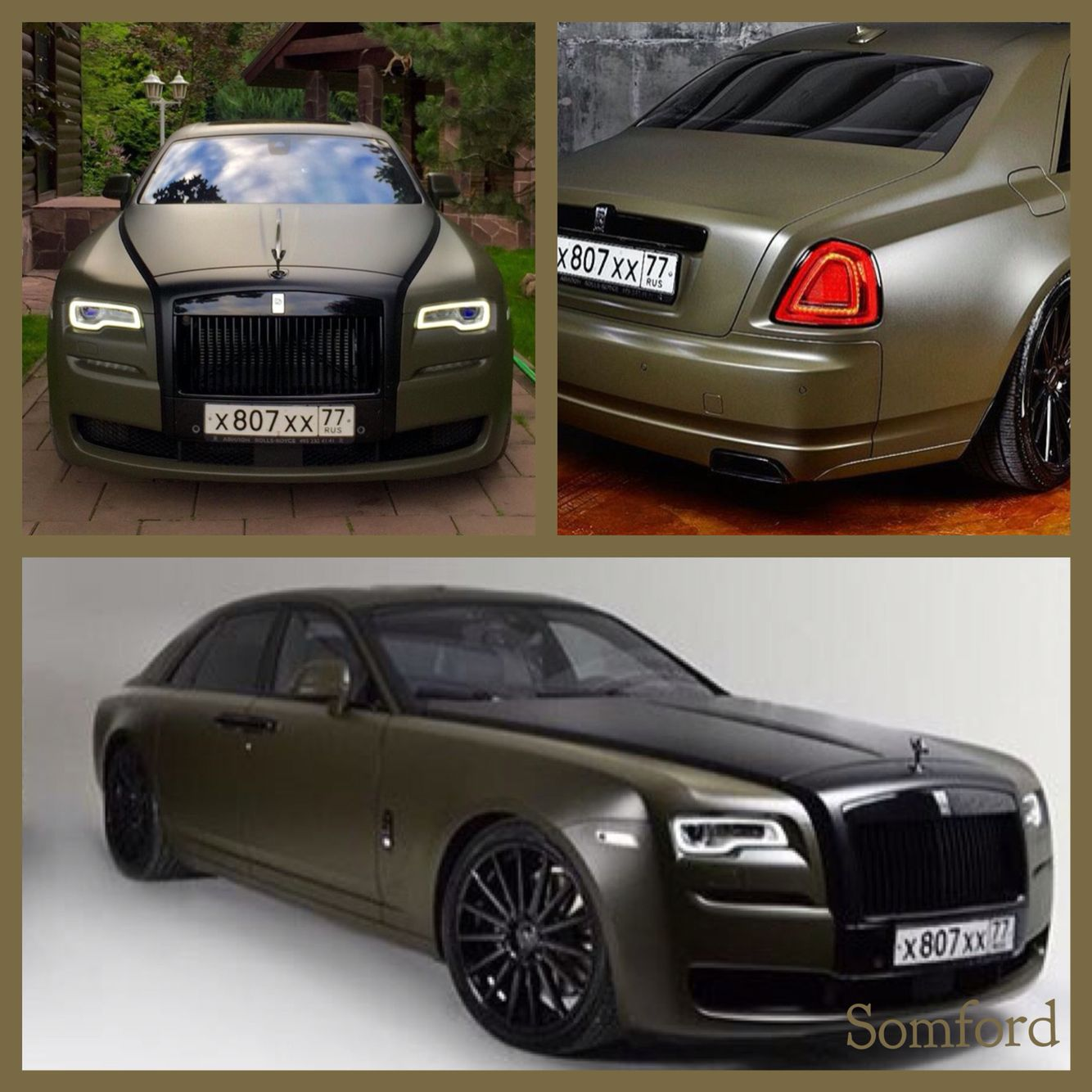 Stunning Rolls Royce Ghost II series with excellent color ...