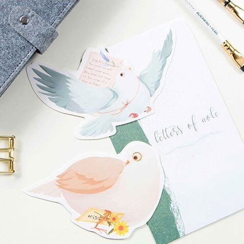 30pcs carrier pigeon carry message style card as postcard invitation