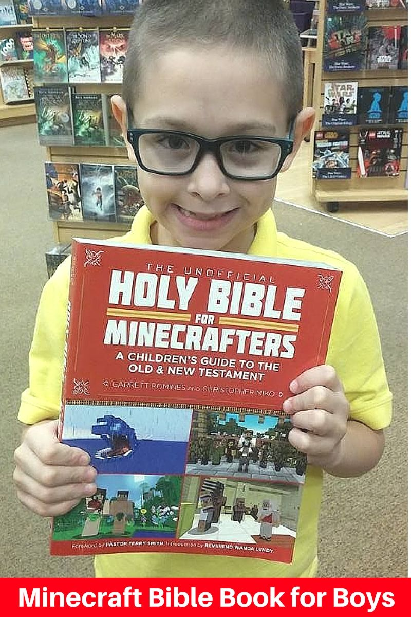 The Minecraft Bible Book Minecraft Bible Stories are
