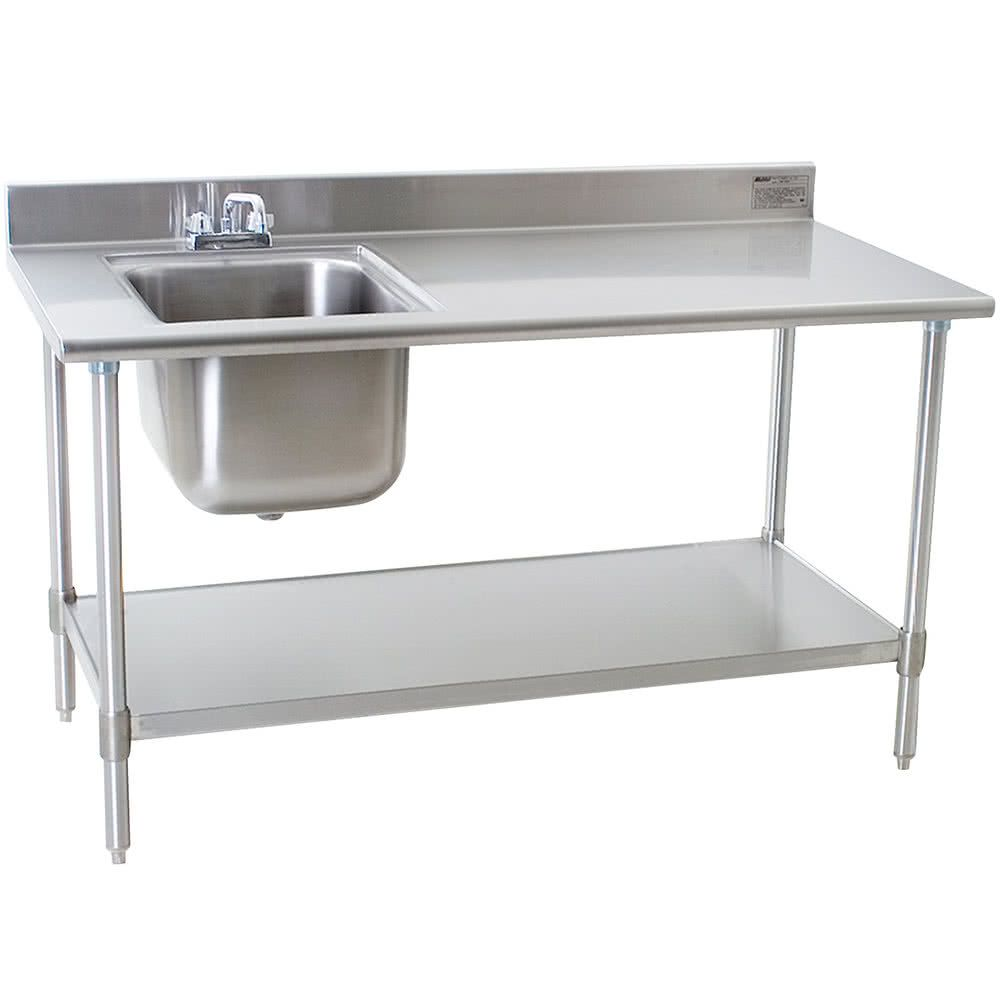 Eagle Group T3060seb Bs E23 30 X 60 Stainless Steel Deluxe Work