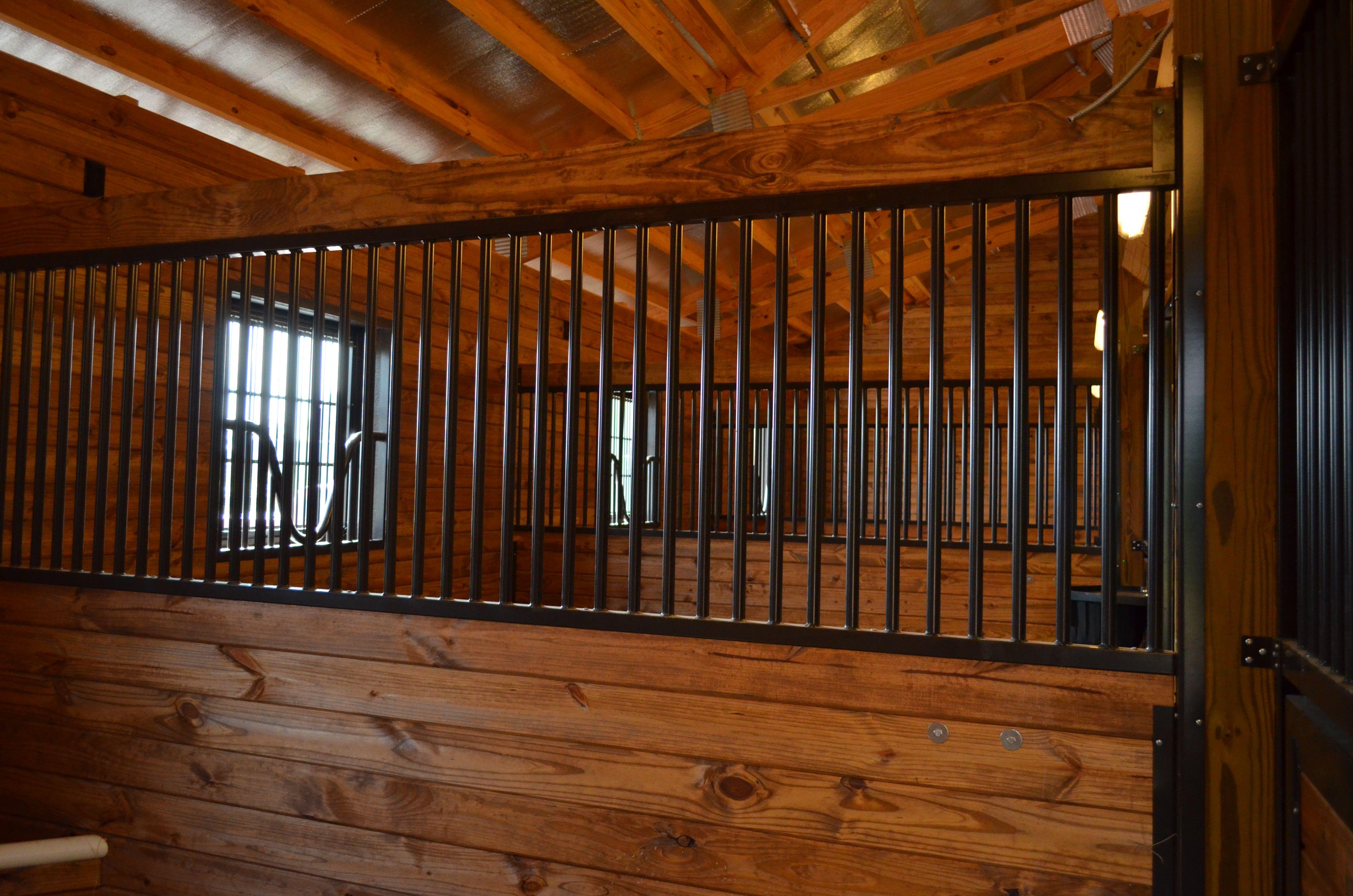 Frontier series barn equipment dutch door horse stalls