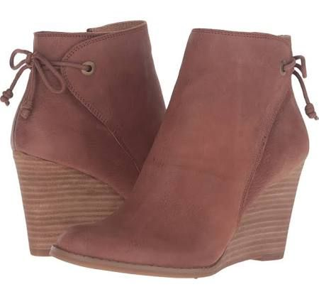 Lucky Brand Yamina Women's Boots Toffee Oxide : 7.5 M