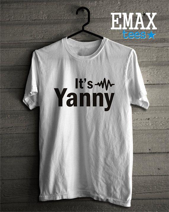 It's Yanny Shirt, Funny Laurel or Yanny T-shirt, Team Yanny Tshirt, Is it Yanny or Laurel Tees, Womens Top or Unisex Shirt, Yanny Sweatshirt