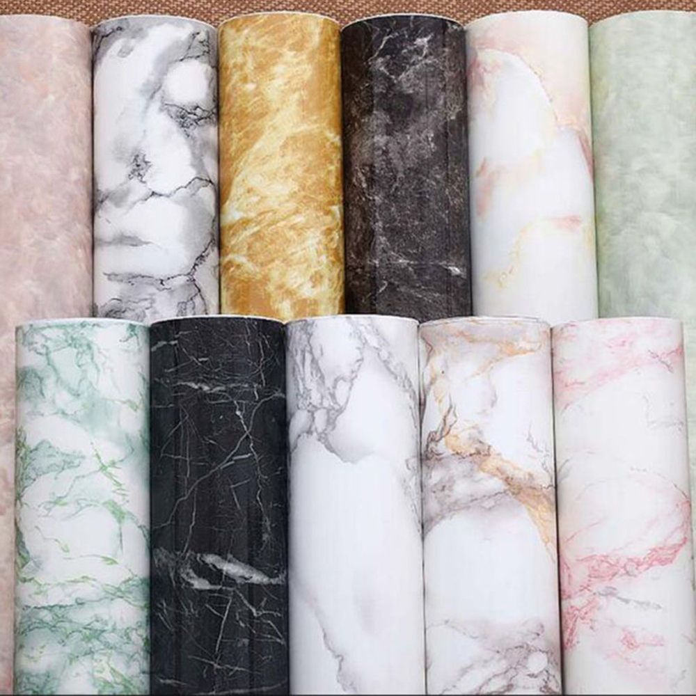 Marble Effect Contact Paper Film Self Adhesive Peel Stick Wall Covering Well Unbrandedgeneric Marble Wallpaper Bedroom Contact Paper Countertop Contact Paper