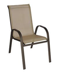 Sling Stack Chair 13 At Menard S Outdoor Chairs Outdoor Furniture Outdoor Decor