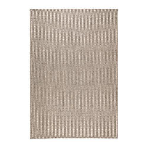 MORUM Koberec, hladko tkaný IKEA Rovný vlnený koberec; vhodný do jedálne, ľahko sa udržuje čistý, stoličky sa na ňom jednoducho vyťahujú.