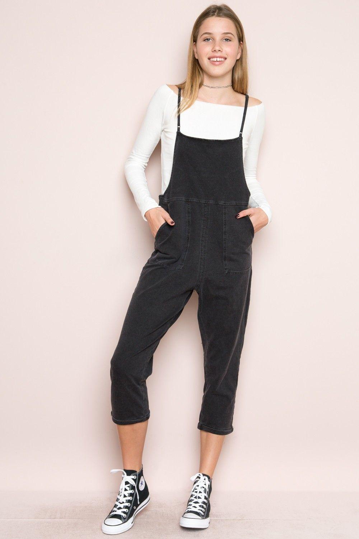 Black t shirt dress brandy melville - Brandy Melville Jade Overalls Clothing
