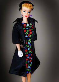 Resultado de imagen para Dressed Box Barbie 1958 1959