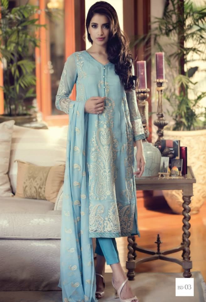 8c03894035 Maria B Eid Mbroidered & Luxury Lawn Collection 2015-2016 | StylesGap.com