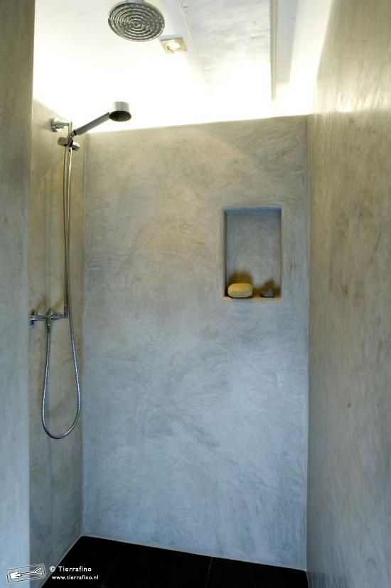 Badkamer - tadelakt. Zo\'n schapjes had ik in gedachten! | house ...