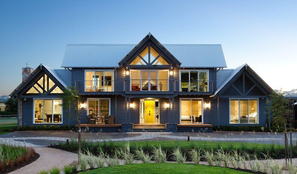 Gable End Windows Gable Roof Design Modern Farmhouse Exterior House Designs Exterior