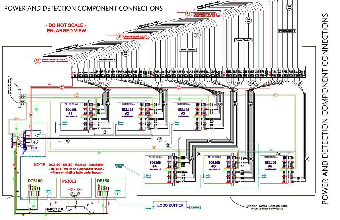 hight resolution of model railroads layout planning track wiring plans