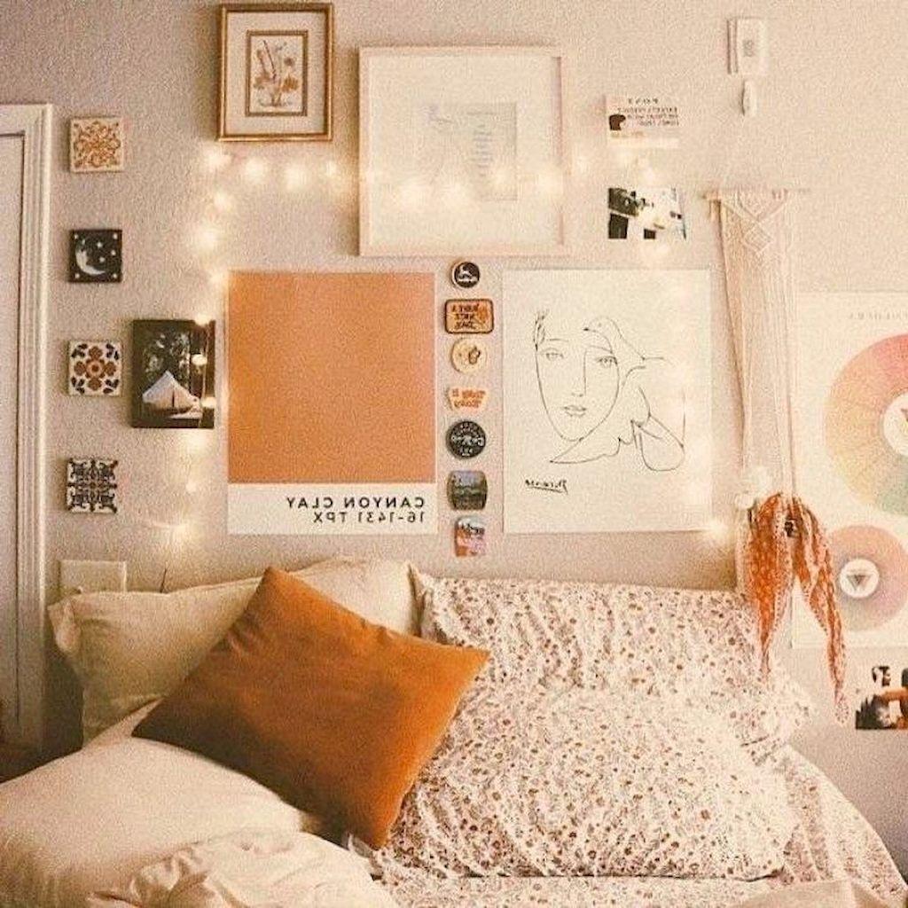 65 Cute Dorm Room Decorating Ideas on A Budget #cutedormrooms