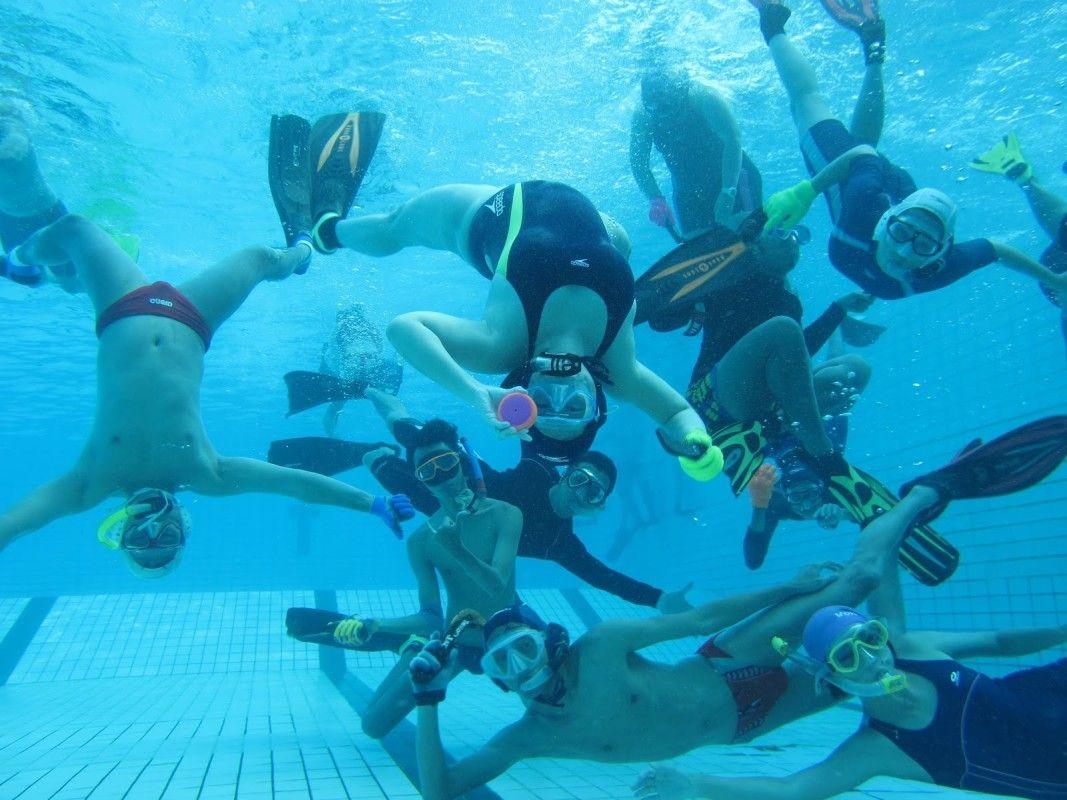 Underwater Hockey Underwater Extreme Sports Hockey