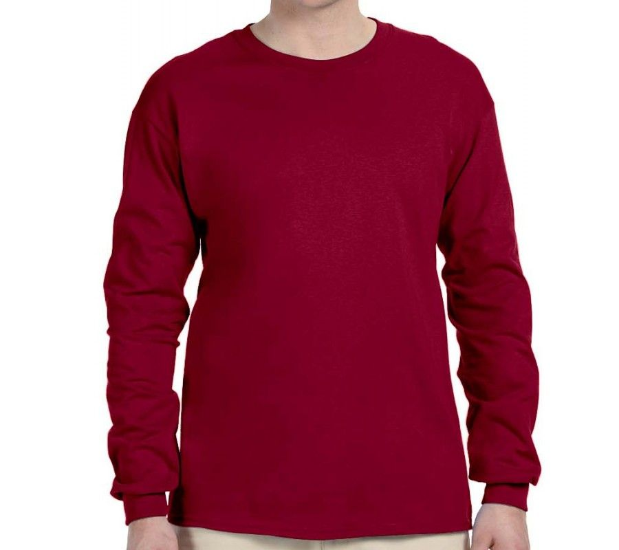 6 oz. Ultra Cotton Long-Sleeve T-Shirt  f1ee2f03845