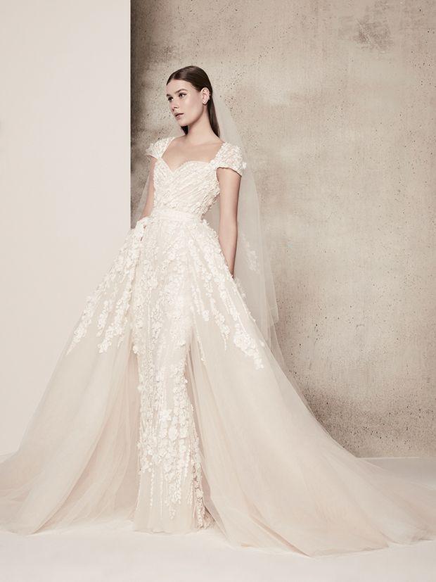 Cherry Blossom Bride: Elie Saab Wedding Dresses Spring Summer 2018