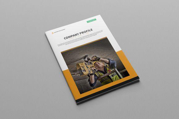 Brochure Construction Company@creativework247 Templates - company profile free template