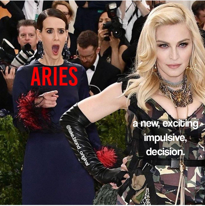 Aries meme