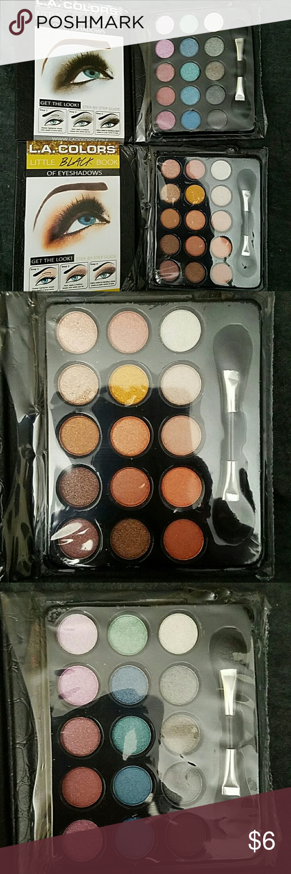Lot of 2 Eye Shadow Pallets Brand New and unopened. ??  No trades ??  Price is firm ?? LA Colors Makeup Eyeshadow