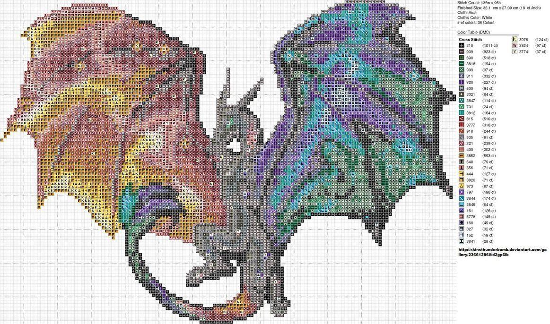 Nebula Dragon by carand88 on deviantART