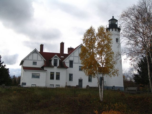 Point Iroquois Lighthouse by shipwrecklog.com, via Flickr