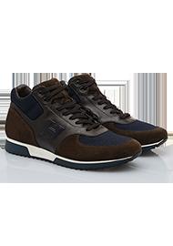Hogan Chaussures De Sport À Panneaux Bas Montantes - Gris MlLsh684