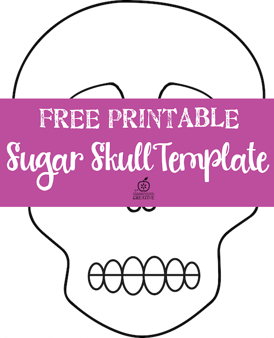 free printable day of the dead templates there is a blank one