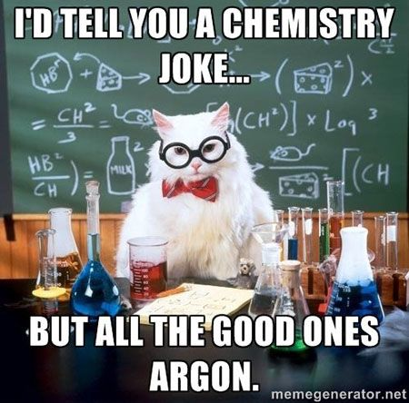 Photo gallery 17 most lovable, laughable animal memes on the web - best of periodic table joke au
