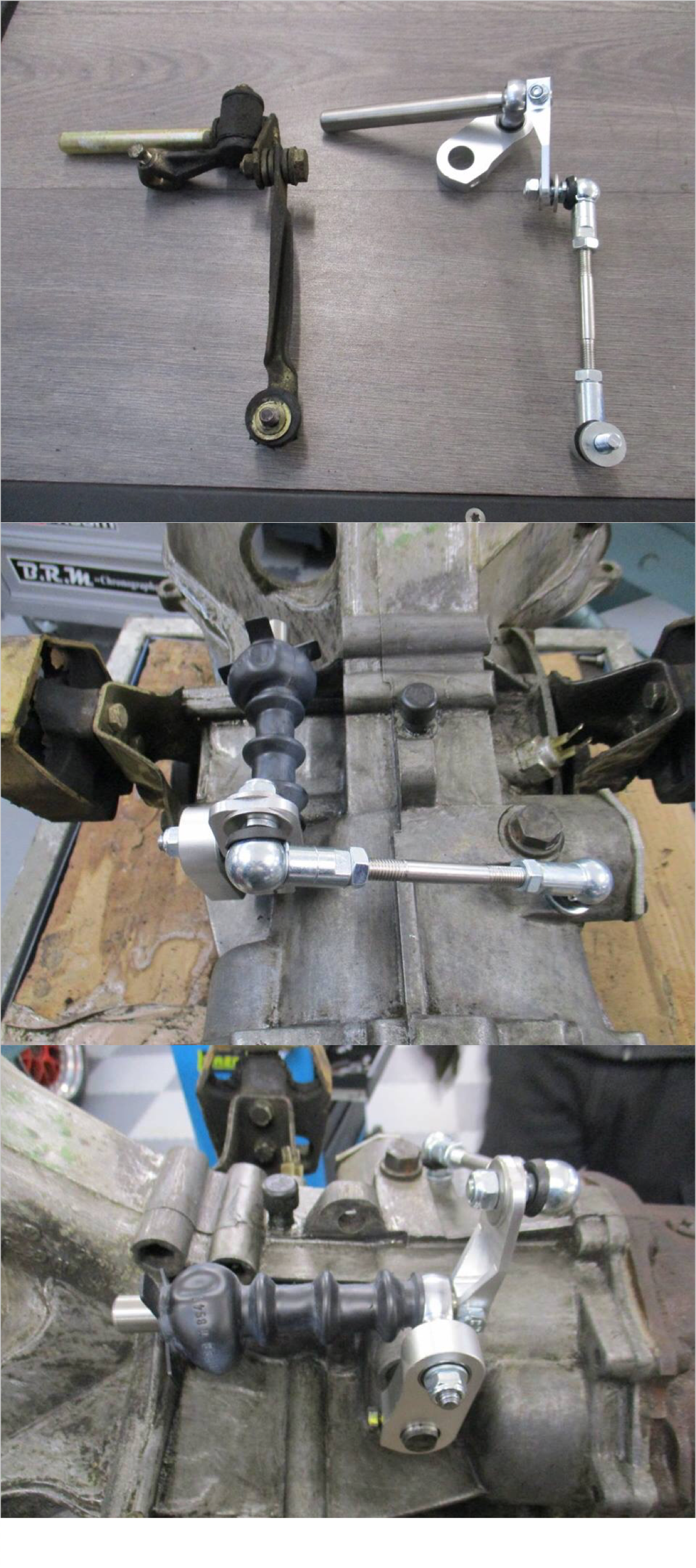 porsche 944 transmission quick shift and gear change linkage upgrades [ 1242 x 2795 Pixel ]