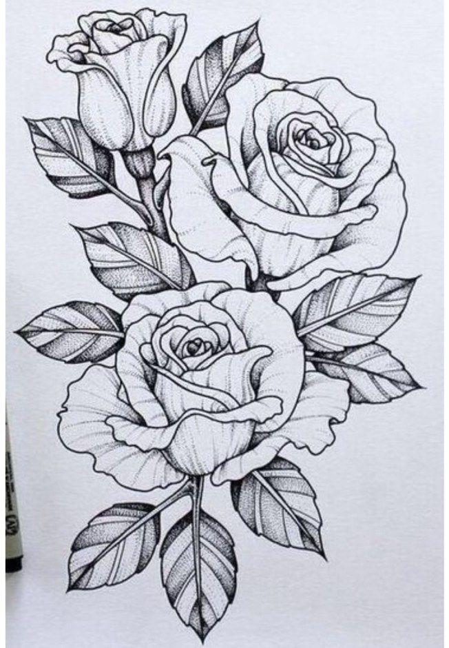 25 Beautiful Flower Drawing Ideas Inspiration Brighter Craft Tattoo Design Drawings Beautiful Flower Drawings Flower Drawing