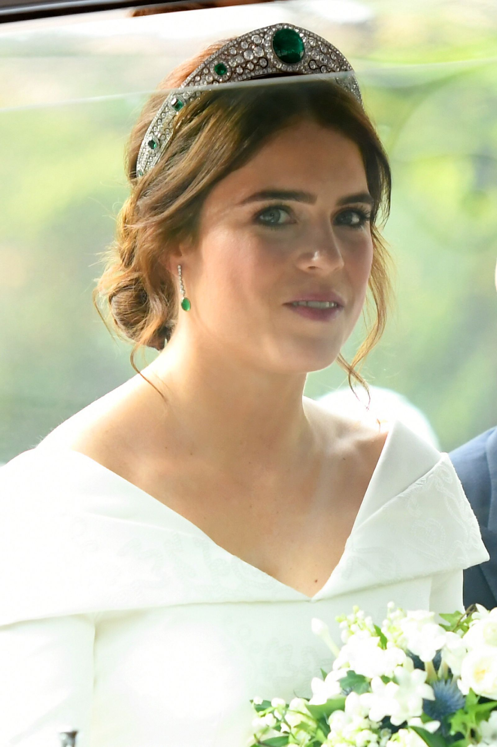 See All of the Photos of Princess Eugenie's Wedding Tiara