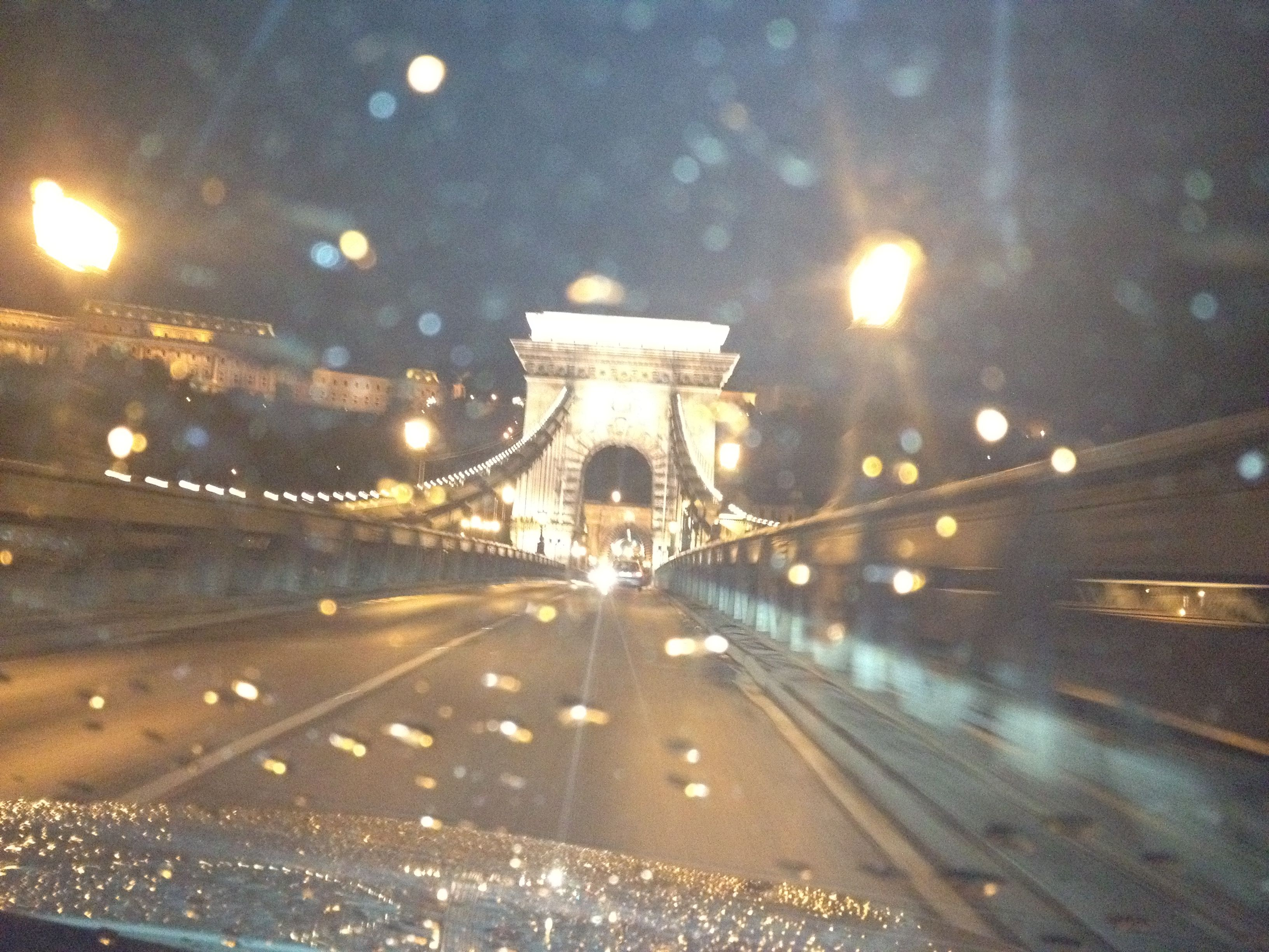 Budapest in the rain.