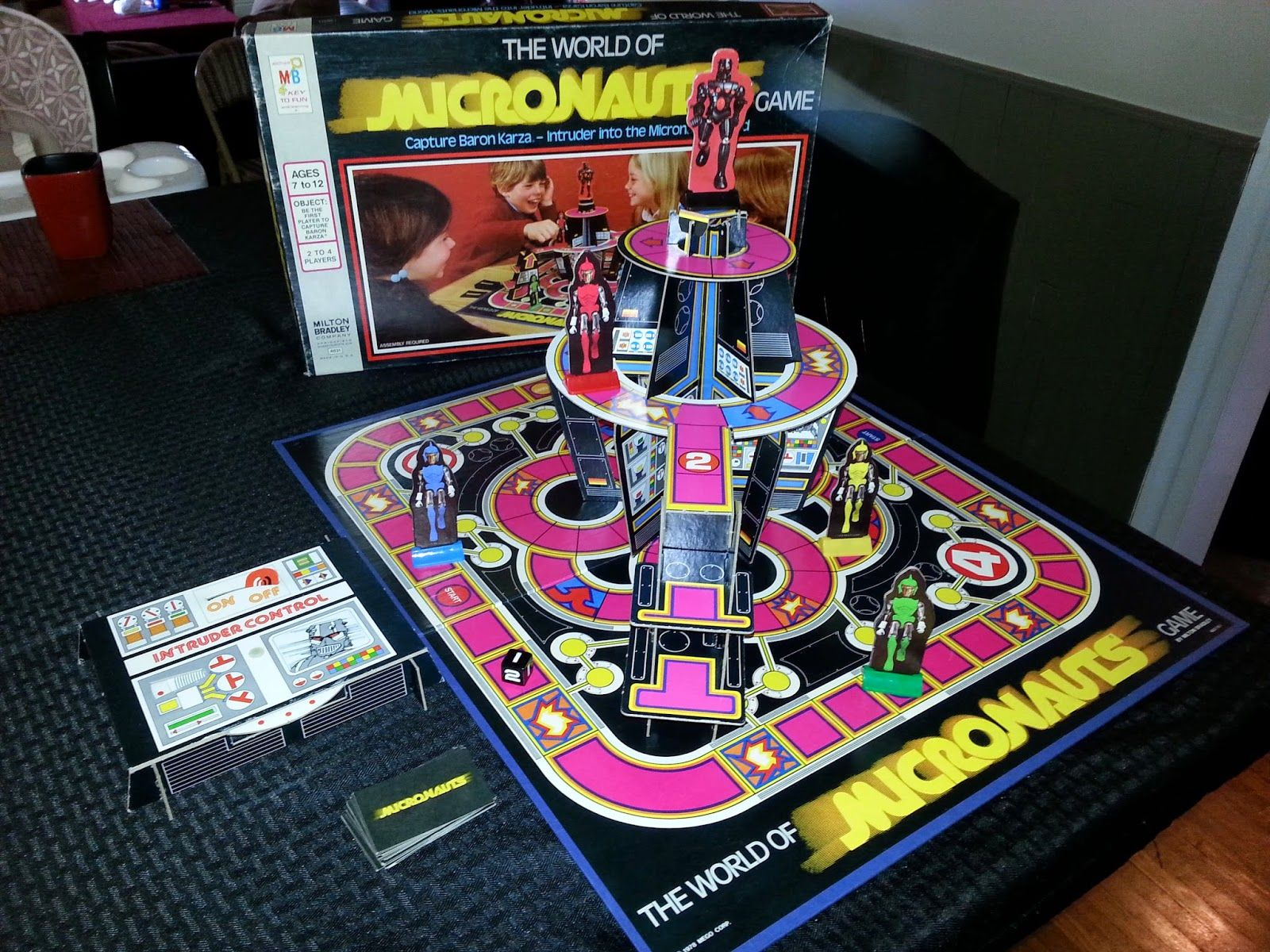 The World of Micronauts Game by Milton Bradley (With