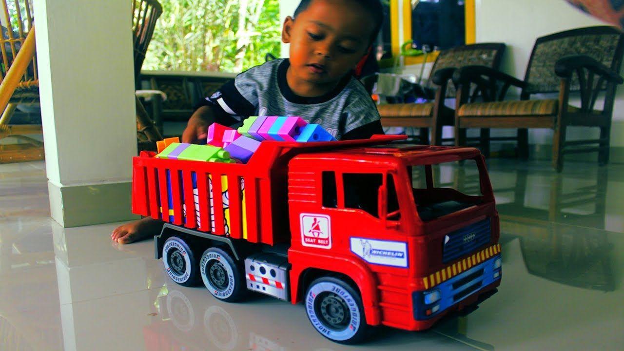 Pin On Mobil Mobilan Truk Dump Mainan Anak Laki Laki