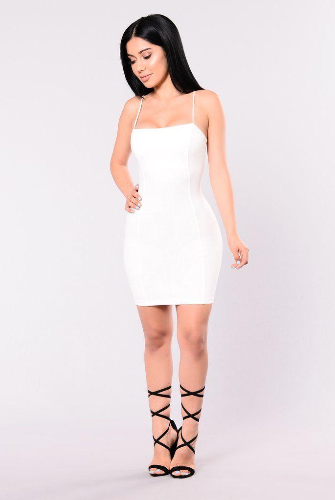Off Blossom WhiteFashion Nova Vivid Body Dress Sculpting 9EWDIbHYe2