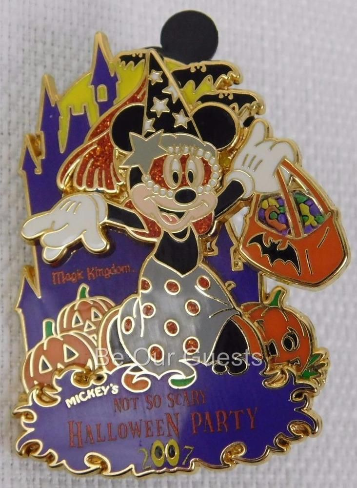 Disney Not So Scary Halloween Party 2007 Minnie Mouse