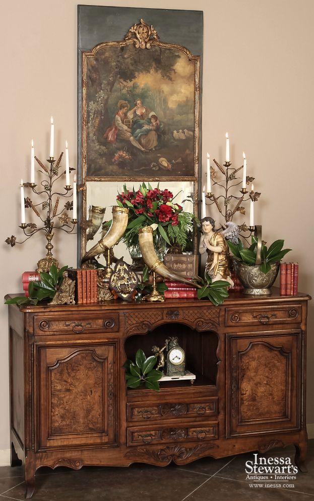 Antique Furniture Christmas Decoration Christmas Interiors