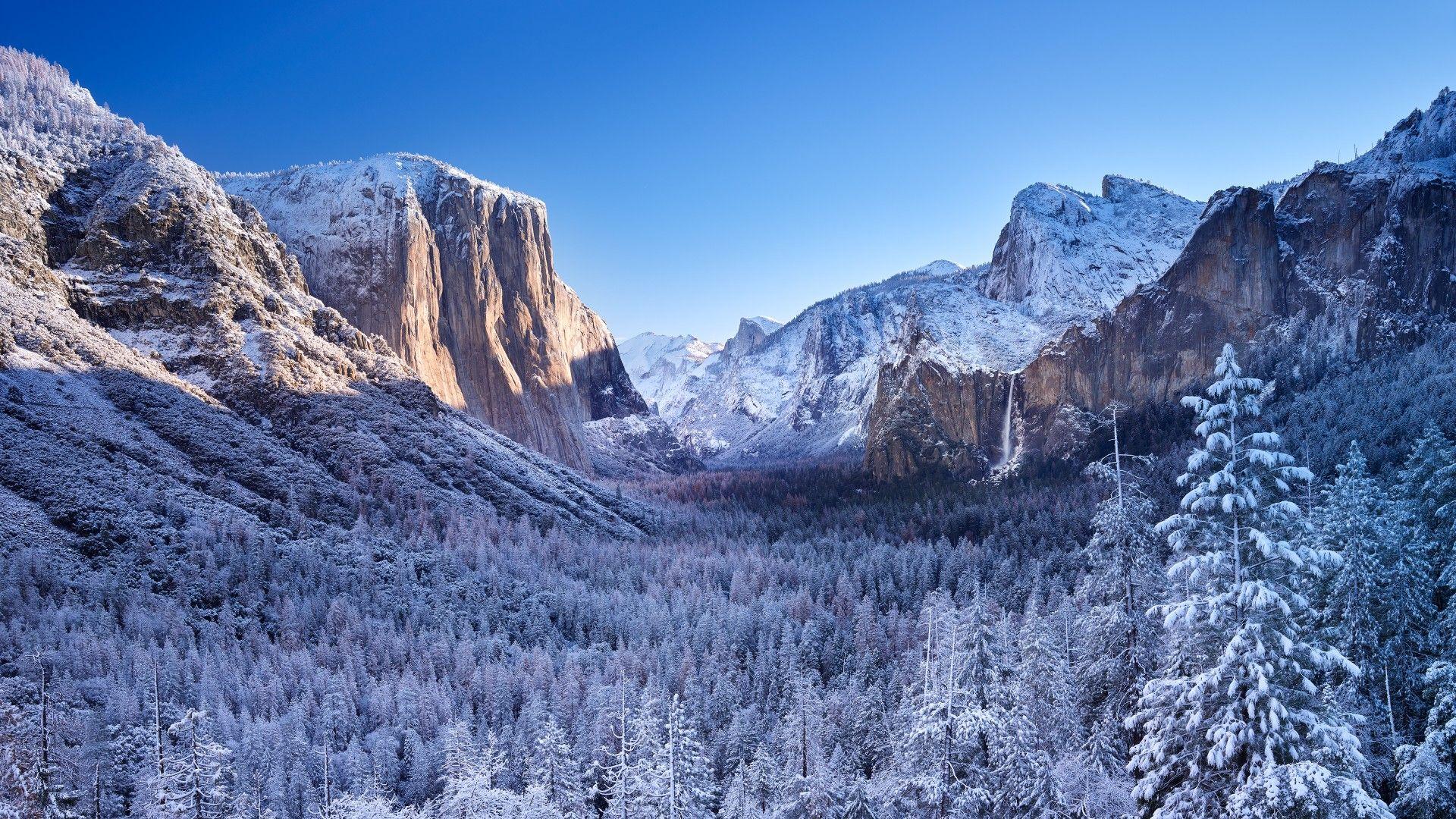 Yosemite National Park Winter[1920x1080] Need iPhone 6S