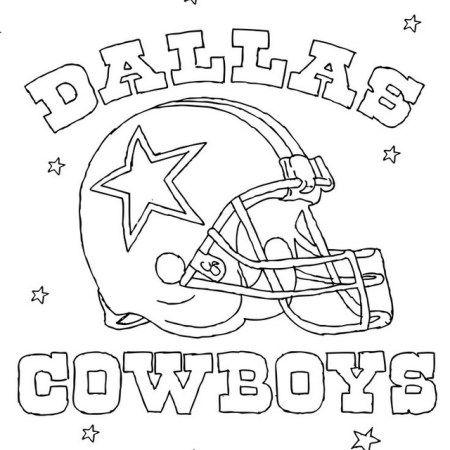Dallas Cowboys Helmet Coloring Nfl Pages Sports Coloring Pages Football Coloring Pages Dallas Cowboys