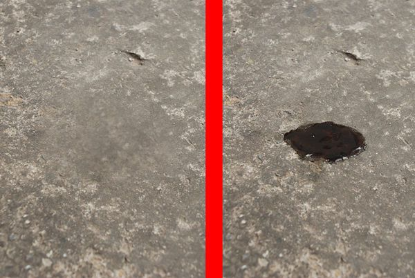 Remove Oil Stains from Concrete Driveway and Garage Remove oil