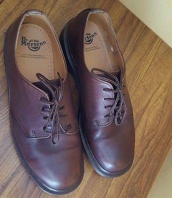 Dr Martens 1561 4 Eye Men's Dark Brown Shoes Size UK 10, ...