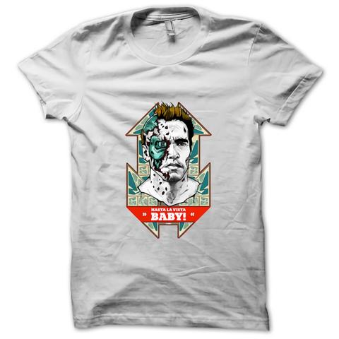 Terminator Hasta La Vista Baby Custom Men S T Shirt Gildan